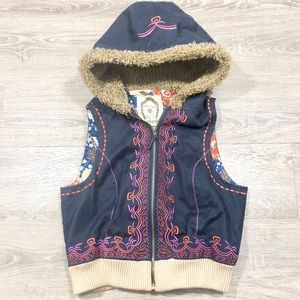 Free people embroidered vest